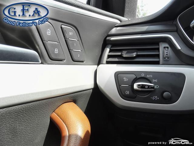 2017 Audi A4 KOMFORT, QUATTRO, LEATHER SEATS, AWD, MEMORY SEATS Photo19