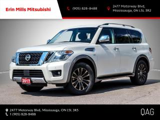 Used 2017 Nissan Armada Platinum Edition NO ACCIDENTS NAV CAM ROOF 3 ROW SEATING for sale in Mississauga, ON