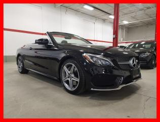 Used 2018 Mercedes-Benz C-Class C300 4MATIC CABRIOLET PREMIUM SPORT CERTIFIED for sale in Vaughan, ON