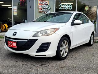 Used 2010 Mazda MAZDA3 4DR SDN MAN GS for sale in Bowmanville, ON