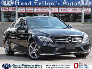 Used 2017 Mercedes-Benz C300 4MATIC, LETHER SEATS, PAN ROOF, BACKUP CAM, NAVI for sale in Toronto, ON