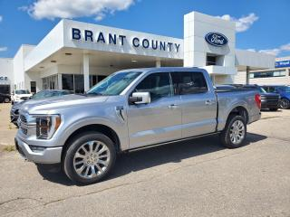 New 2021 Ford F-150 Limited  for sale in Brantford, ON