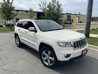 Used 2012 Jeep Grand Cherokee Overland, 4X4, Navi., Panoramic Sunroof, Leather, for sale in Toronto, ON
