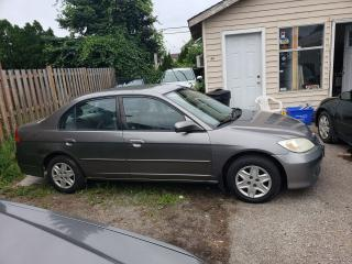 Used 2004 Honda Civic LX for sale in Hamilton, ON