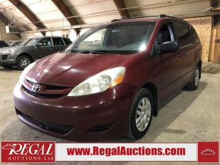 Used 2008 Toyota Sienna CE 4D WAGON for sale in Calgary, AB