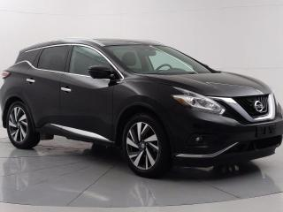 Used 2015 Nissan Murano Platinum Nav, Bluetooth, Blind spot warning, Front/ Rear heated seats for sale in Winnipeg, MB