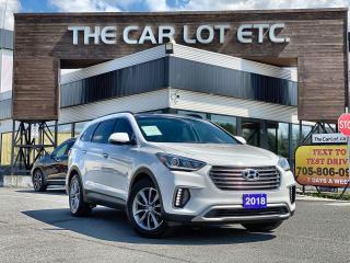 Used 2018 Hyundai Santa Fe XL Luxury AWD for sale in Sudbury, ON