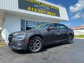 Used 2018 Chrysler 300 AWD!! Alloy Wheels! Clean CarFax! S Trim! for sale in Kingston, ON