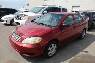 Used 2004 Toyota Corolla 1.8L CE Manual for sale in Whitby, ON