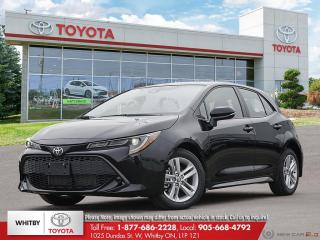 New 2021 Toyota Corolla Hatchback FA20 for sale in Whitby, ON