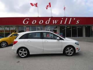 Used 2014 Mercedes-Benz B-Class SPORT TOURING! HEATED LEATHER! CLEAN CARFAX! for sale in Aylmer, ON