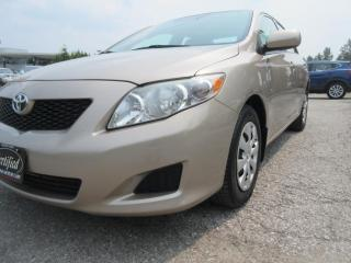 Used 2010 Toyota Corolla ACCIDENT FREE for sale in Newmarket, ON