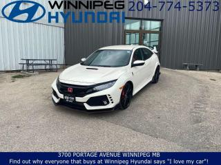 Used 2017 Honda Civic Type R BASE - Premium audio system, Apple car play, Android auto for sale in Winnipeg, MB