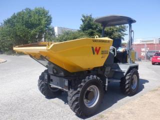 Used 2017 Wacker Neuson DW50 Rotating Dump Box Deutz Diesel for sale in Burnaby, BC