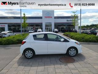 Used 2017 Toyota Yaris LE  - Bluetooth - $91 B/W - Low Mileage for sale in Ottawa, ON