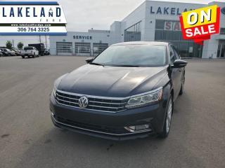 Used 2017 Volkswagen Passat Highline  - $155 B/W - Low Mileage for sale in Prince Albert, SK