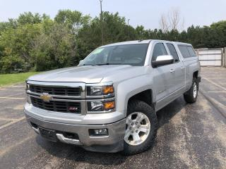 Used 2015 Chevrolet Silverado 1500 LT Z71 DBLE CAB 4WD for sale in Cayuga, ON