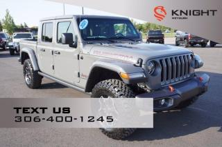 New 2021 Jeep Gladiator Rubicon   Heated Seats   Heated Steering Wheel   Bluetooth   Tow Package for sale in Weyburn, SK