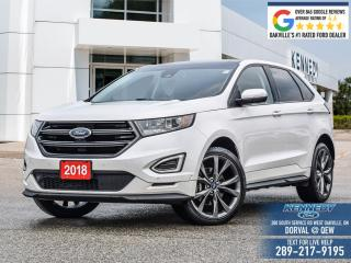 Used 2018 Ford Edge SPORT for sale in Oakville, ON