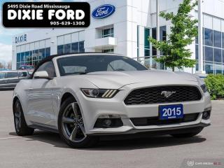 Used 2015 Ford Mustang EcoBoost Premium for sale in Mississauga, ON