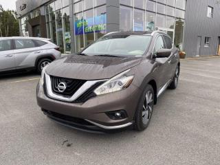 Used 2016 Nissan Murano Platinum for sale in Gander, NL