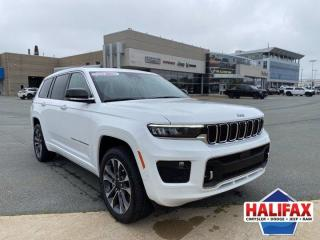 New 2021 Jeep Grand Cherokee L Overland for sale in Halifax, NS