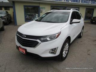 Used 2019 Chevrolet Equinox ALL-WHEEL DRIVE LT EDITION 5 PASSENGER 1.5L - TURBO.. NAVIGATION.. HEATED SEATS.. PANORAMIC SUNROOF.. BACK-UP CAMERA.. BLUETOOTH SYSTEM.. for sale in Bradford, ON