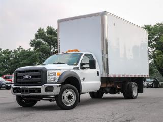 Used 2013 Ford F-550 F550 Regular Cab XL 2WD with 16 ft Box and Ramp for sale in Ottawa, ON