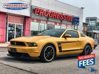 Used 2012 Ford Mustang Boss 302 for sale in Sarnia, ON