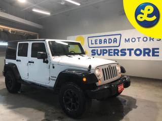 Used 2014 Jeep Wrangler Unlimited Sport  4X4 * 3.6 V6 * Remote Starter * Eagle Alloy Off Road Rims * Good Year Wrangler All Terrain Tires * Removable Hard Top  * Trailer Rece for sale in Cambridge, ON