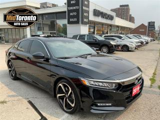 Used 2019 Honda Accord Sport - Power Roof - Remote Starter - Lane Keep - Adapt Cruise - No Accidents for sale in North York, ON