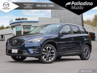 Used 2016 Mazda CX-5 GT - ONE OWNER - NO ACCIDENTS - LOW MILEAGE for sale in Sudbury, ON