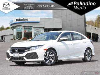 Used 2018 Honda Civic Hatchback LX - SPORTY MANUAL HATCH - NO ACCIDENTS for sale in Sudbury, ON