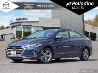 Used 2018 Hyundai Elantra GL - ANDROID AUTO/APPLE CARPLAY - TONS OF FEATURES for sale in Sudbury, ON