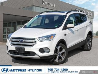 Used 2018 Ford Escape SEL - 4WD for sale in Barrie, ON