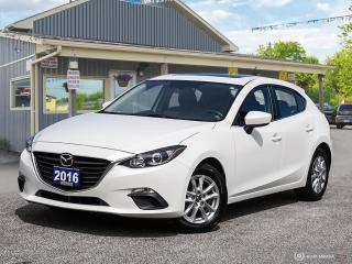 Used 2016 Mazda MAZDA3 GS, LOW KMS, NAVI, PWR SUNROOF, R/V CAM for sale in Orillia, ON