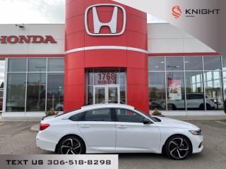 New 2021 Honda Accord Sedan SE for sale in Moose Jaw, SK