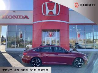 New 2021 Honda Accord Sedan Sport for sale in Moose Jaw, SK