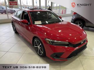 New 2022 Honda Civic Sedan Touring for sale in Moose Jaw, SK