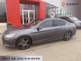 Used 2017 Honda Accord Sedan Touring for sale in Moose Jaw, SK