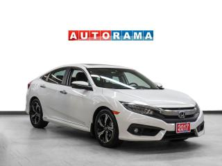 Used 2017 Honda Civic TOURING NAVIGATION LEATHER SUNROOF BACKUP CAMERA for sale in Toronto, ON