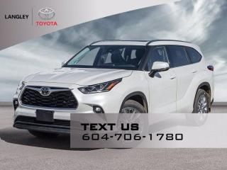 New 2021 Toyota Highlander LIMITED  for sale in Langley, BC