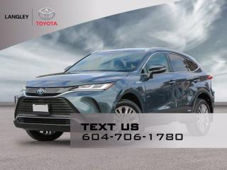 New 2021 Toyota Venza XLE for sale in Langley, BC