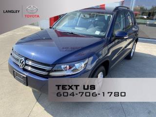 Used 2015 Volkswagen Tiguan Trendline for sale in Langley, BC
