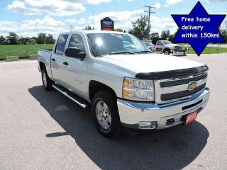 Used 2013 Chevrolet Silverado 1500 LT Crew cab 4X4 Seats 6 for sale in Gorrie, ON