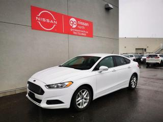 Used 2016 Ford Fusion SE / Used Ford Dealership / Smart Key / Low KM for sale in Edmonton, AB