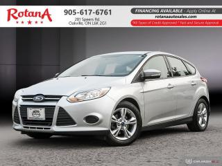 Used 2014 Ford Focus SE_Clean Carfax_Low KMs for sale in Oakville, ON