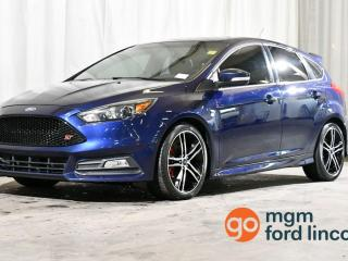 Used 2016 Ford Focus ST 6-SPEED MANUAL for sale in Red Deer, AB