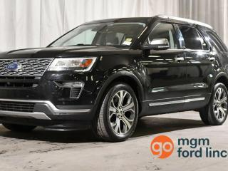 Used 2018 Ford Explorer Platinum for sale in Red Deer, AB