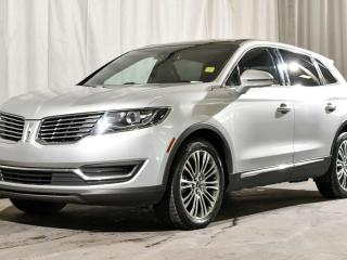 Used 2016 Lincoln MKX RESERVE AWD / HEATED & COOLED FRONT SEATS / HEATED BACK SEATS / HEATED STEERING WHEEL / NAVIGATION / REMOTE START / BACKUP CAMERA & MORE!! for sale in Red Deer, AB